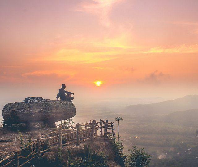 keindahan diatas bukit