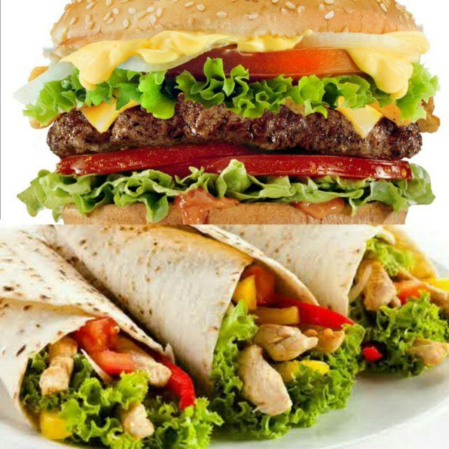 Hamburger dan Kebab