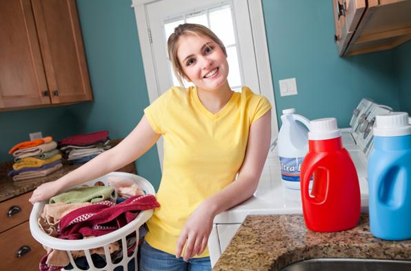 Belajar melakukan kegiatan rumah tangga