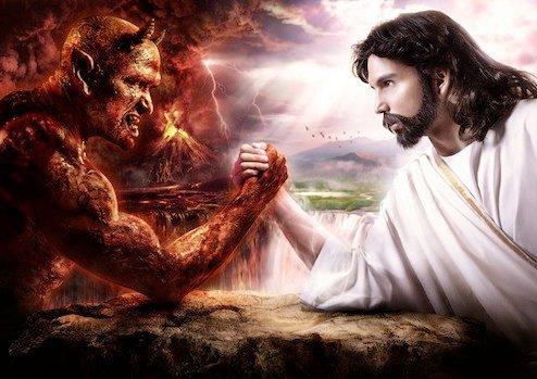 Setan Vs Manusia