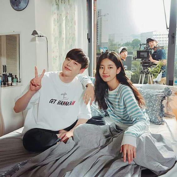Lee Jong Suk dan Bae Suzy sebagai pemeran utama