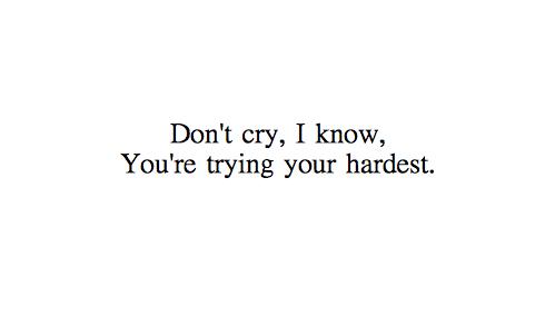 jangan salahkan dirimu