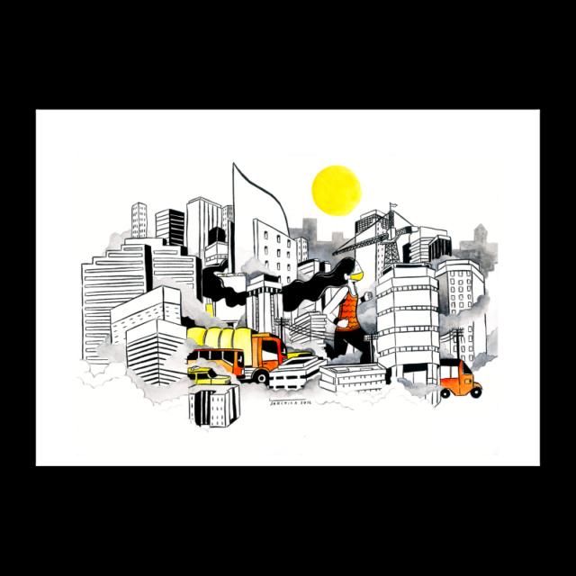 Polluted Runner by Spasium feat. Sanchia Hamidjaja