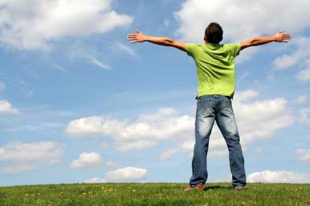 I feel free!