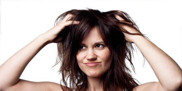 rambut berantakan di depan temen? no way!