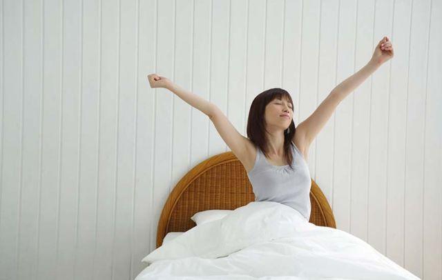 Selalu bangun lebih awal di pagi hari