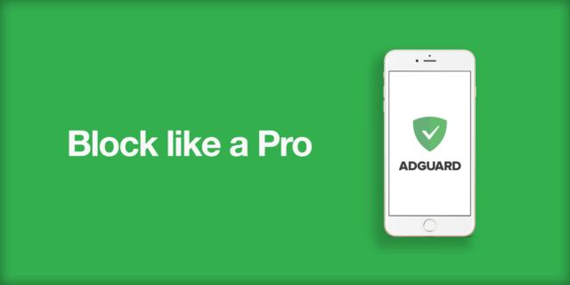 Coba AdGuard yang kompatible dengna iOS