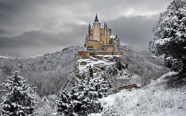 Alcazar of Segovia, Spanyol