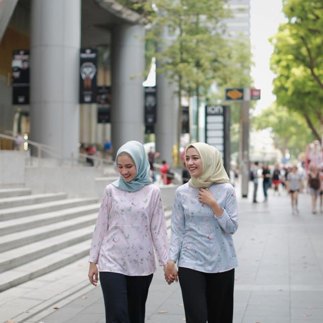 Hijab Bahan Voal Polos 43
