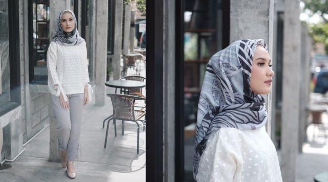 Hijab Bahan Voal Polos 67