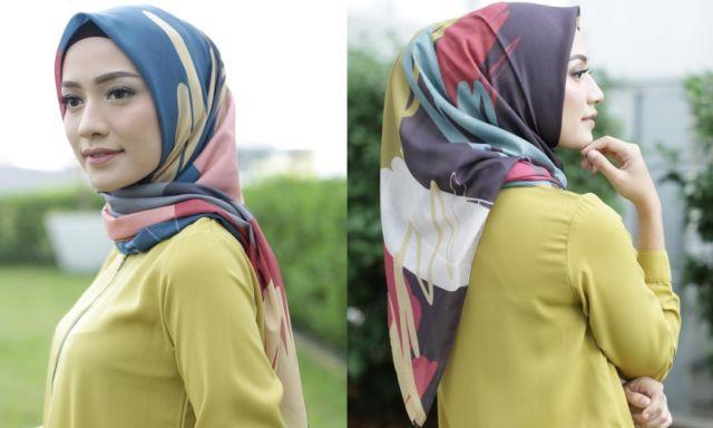Hijab Bahan Voal Polos 10