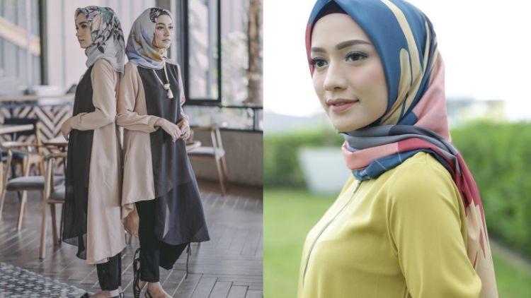 Hijab Bahan Voal Polos 6