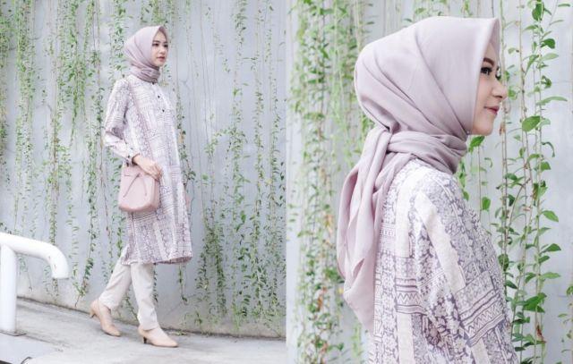 Hijab Bahan Voal Polos 25