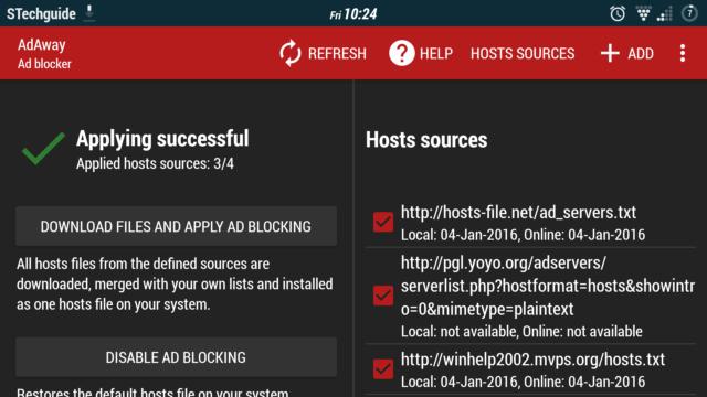 Kamu membutuhkan akses root untuk menggunakan AdAway