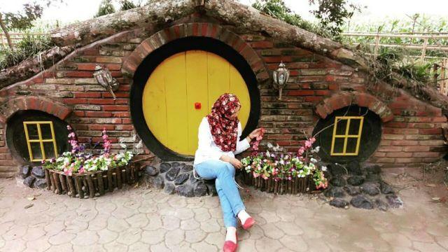 Rumah Hobbit di Rabbit Park