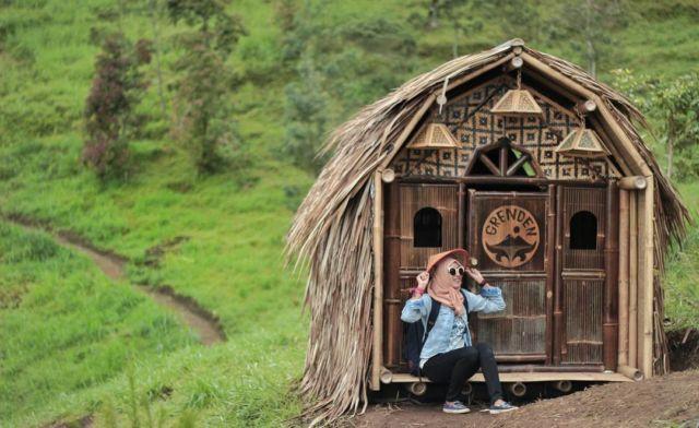 Rumah Hobbit di Bukit Grenden