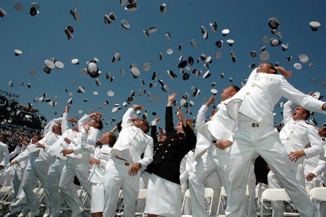 naval academy graduation