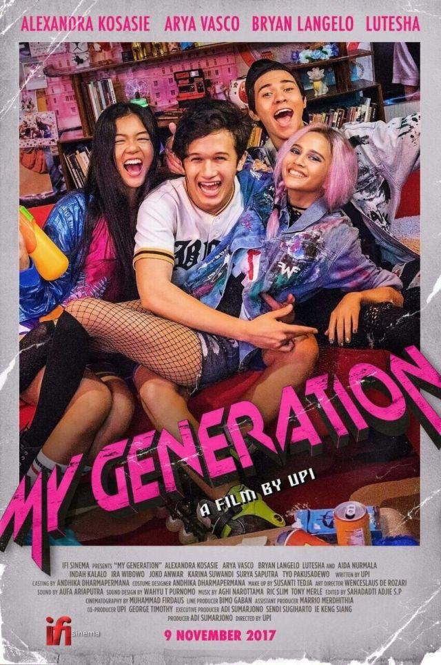 Poster Film My Generation