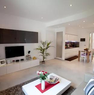 contoh desain interior rumah tipe 45