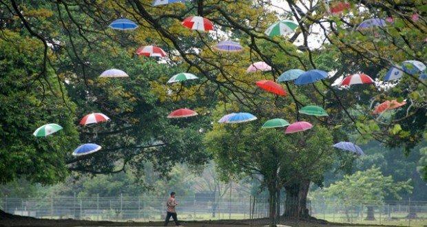 Kota Bogor seringkali mengalami hujan