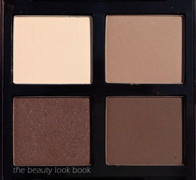 matte brown eyeshadow quad