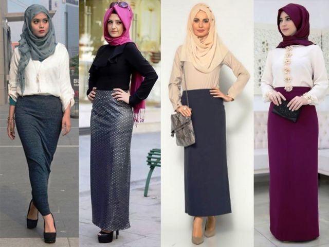 Rok fashionable