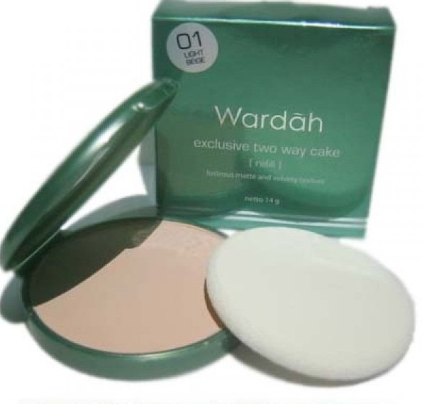 Wardah Exclusive Two Way Cake shade 05 Coffee Beige