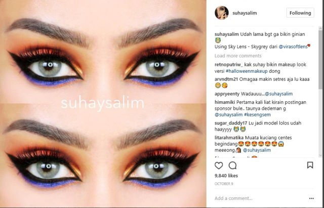 Instagram Suhay Salim