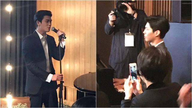 Lagu persembahan Park Hyung-sik dan Park Bo-gum untuk Song-Song Couple.
