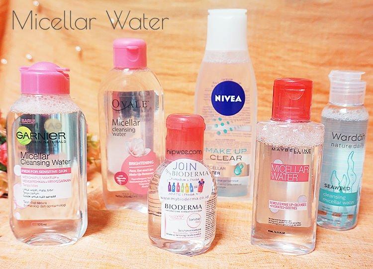Review 6 Micellar Water yang Gampang Dibeli di Indonesia