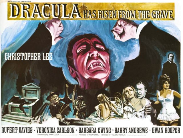 Dracula Has Rises from The Grave (1968)