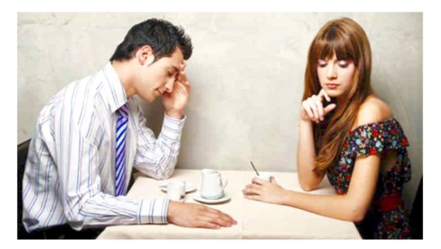 marahan gara-gara susah nyari tempat yang di mau si pacar