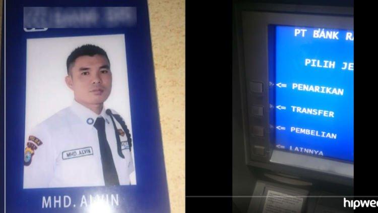 Inilah Mhd Alvin Satpam Bank Yang Doyan Bikin Video Ngerjain