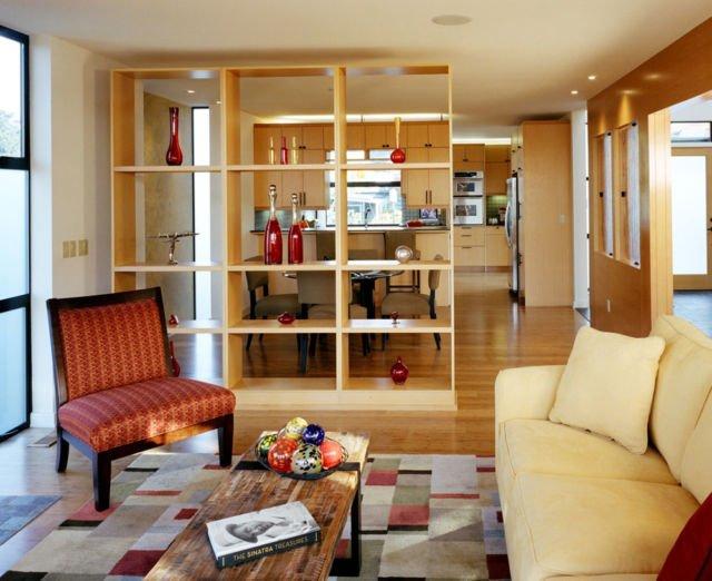 13 Ide Kreatif Pembatas Ruangan Untuk Rumah Mungil Satu