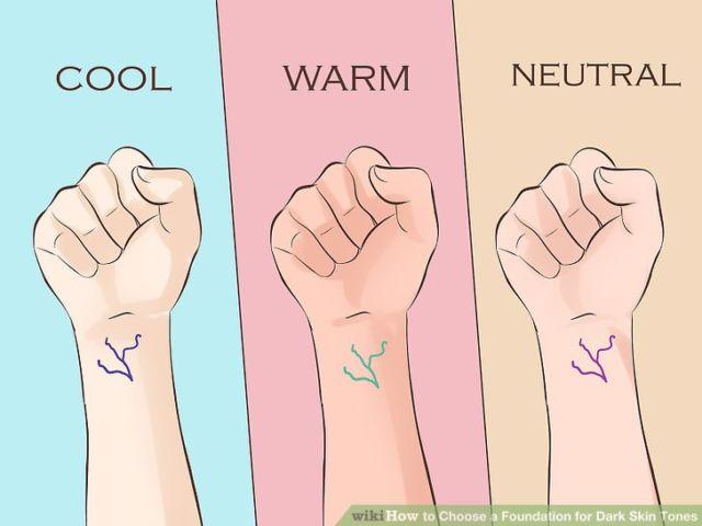 Warna Foundation di berbagai jenis kulit