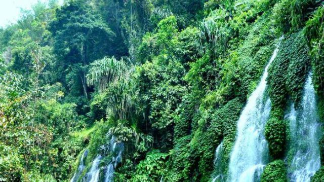 Curup Maung, Salah Satu Air Terjun Terpopuler di Lahat