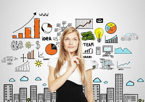 Ilustrasi mencari ide usaha
