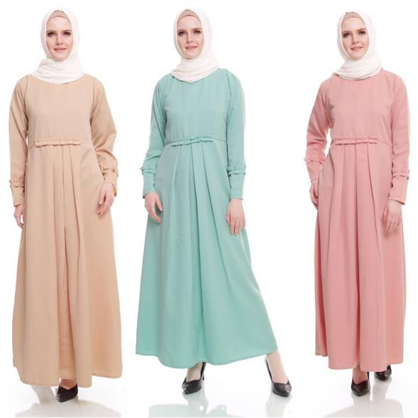 model baju long dress