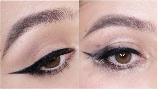 Eye liner smudging, big no!