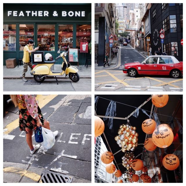 Jalanan di Sheung Wan, Hong Kong