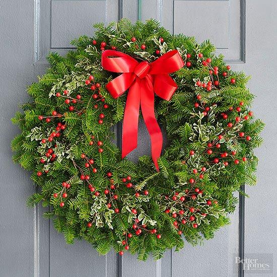Christmas Wreath Dekorasi Wajib Pintu Atau Dinding Untuk Memeriahkan Natal Di Rumah