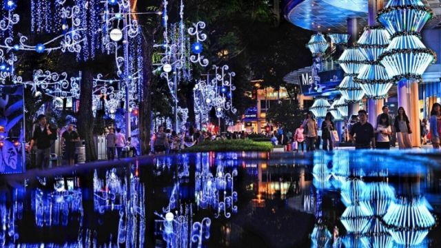 White christmast ala Singapura