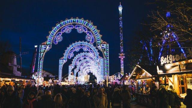 pasar malam Natal, London