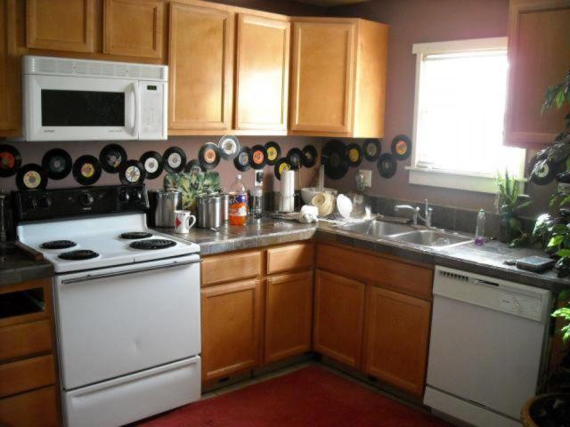 Dapur ala piringan hitam