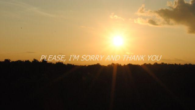 maaf, tolong, dan terimakasih.
