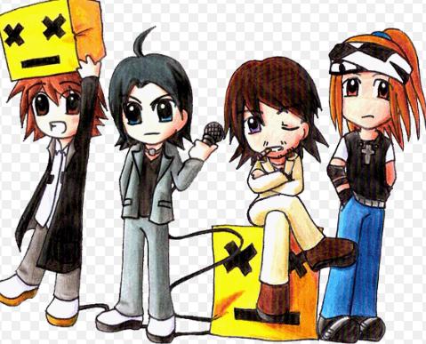 Ready Steady Go Anime Fans Character
