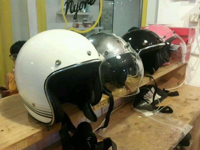 Memperhatikan Penyimpanan Helm