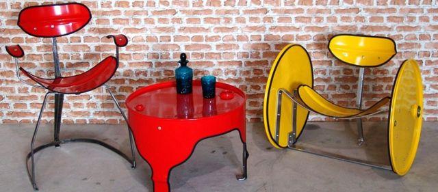 kursi dan meja