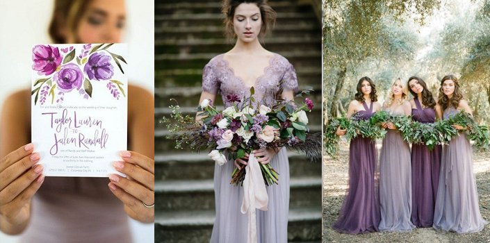 Inspirasi Pernikahan Nuansa Ultra Violet Trend Warna 2018
