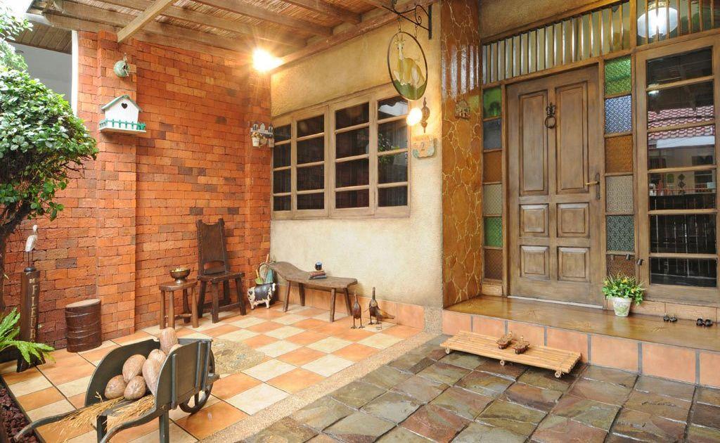 10 Inspirasi Lantai Untuk Halaman Rumah. Bekal Untuk Santai Sore Di Teras  Bersama Pasangan Sah